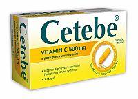 Cetebe Vitamín C 500mg 30 kapsúl