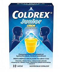 Coldrex Junior Citrón plo por (vrec.papier/PE/Al/PE) 1x10 ks