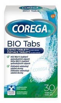 Corega Antibakteriálne čistiace tablety 30ks