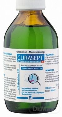 CURASEPT ADS 220 ÚSTNA VODA 0,2% 200 ml
