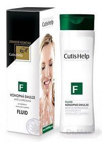 CutisHelp FLUID konopná umývacia emulzia - nová pri precitlivenej a alergickej pleti 1x200 ml