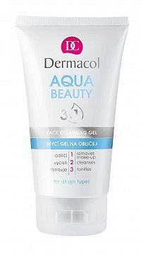 Dermacol Aqua Beauty 3v1 čistiaci gél na tvár 150 ml
