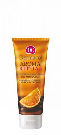 DERMACOL AROMA RITUAL Krém na ruky Belgická čokoláda 1x100 ml