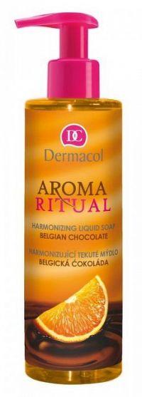 DERMACOL AROMA RITUAL Tekuté mydlo Belgická čokoláda 1x250 ml