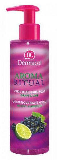 DERMACOL AROMA RITUAL Tekuté mydlo Hrozno-limetka 1x250 ml