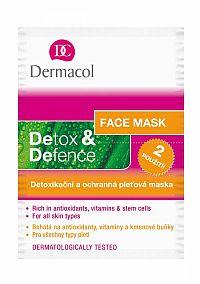 DERMACOL DETOX & DEFENCE maska 2x8 g
