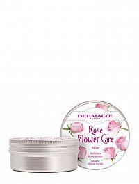 Dermacol Flower care telové maslo Ruža 75 ml
