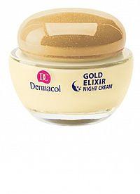 DERMACOL GOLD ELIXIR Nočný krém 1x50 ml