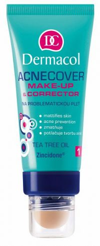 DERMACOL MAKE-UP ACNECOVER s korektorom C1 1x30 ml + 3g