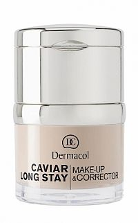 DERMACOL MAKE-UP s korektorom CAVIAR PALE 1x30 ml