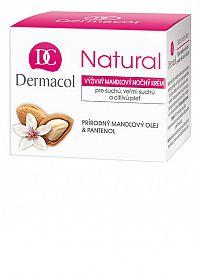 DERMACOL NATURAL Mandľový nočný krém 1x50 ml