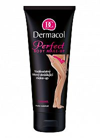 Dermacol Perfect Body Make-Up Vodeodolný telový skrášľujúci make-up Caramel 100 ml