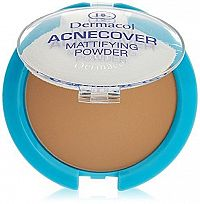 Dermacol Púder Acnecover Mattifying Powder Honey 11 g