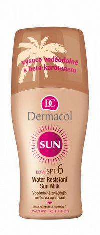 Dermacol Sun mlieko na opaľovanie rozprašovač SPF6 200 ml
