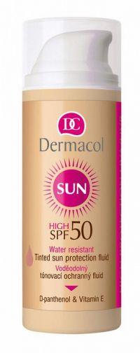DERMACOL SUN Tónovací vodeodolný pleťový fluid SPF 50 1x50 ml
