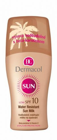 Dermacol Sun Water Resistant Sun Milk spray SPF10 200 ml