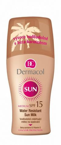 Dermacol Sun Water Resistant Sun Milk spray SPF15 200 ml