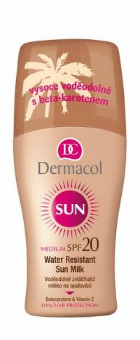 Dermacol Sun Water Resistant Sun Milk spray SPF20 200 ml