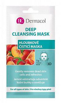 DERMACOL Textilná Hĺbkovo čistiaca maska 15 ml