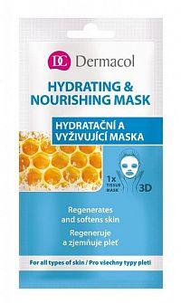 DERMACOL Textilná Hydratačná a vyživujúca maska 15 ml