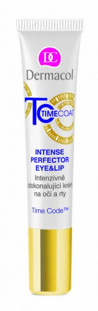 DERMACOL TIME COAT Krém na oči a pery 1x15 ml