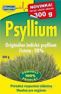 Dimica Psyllium prírodná rozpustná vláknina 1x300 g