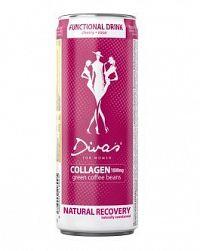 Diva's COLLAGEN sýtený nealkoholický nápoj (plechovka) 1x250 ml