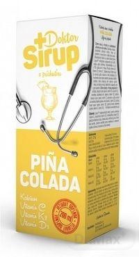 Doktor Sirup kalciový sirup s príchuťou PINA COLADA 1x200 ml