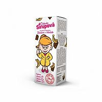 Doktorka Sirupová kalciový sirup s príchuťou banánov v čokoláde 100 ml