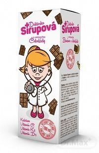 Doktorka Sirupová kalciový sirup s príchuťou Čokolády 1x100 ml