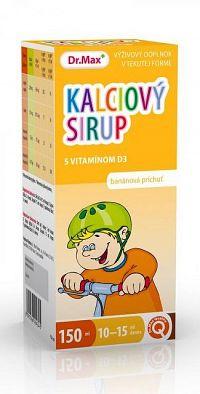 Dr.Max Kalciový sirup s vitamínom D3 150 ml