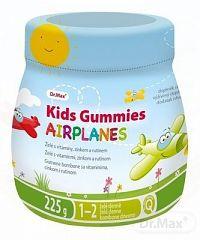 Dr.Max Kids Gummies AIRPLANES (inov. 2018) želé s vitamínmi, zinkom a rutínom 1x225 g
