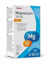 Dr.Max Magnesium 375 mg 20 šumivých tabliet