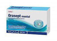 Dr.Max Orasept Mentol 1x24 ks