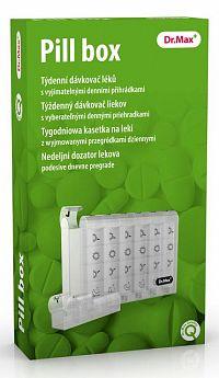 Dr.Max Pill box - dávkovač liekov 1 ks