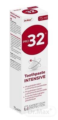 Dr.Max PRO32 Toothpaste INTENSIVE zubná pasta (inov. 2020) 1x75 ml