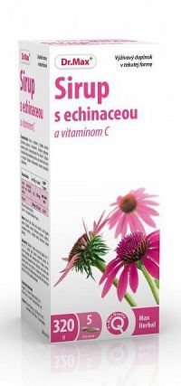 Dr.Max Sirup s echinaceou a vitamínom C 320 g