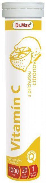 Dr.Max Vitamín C 1000 mg 20 šumivých tabliet