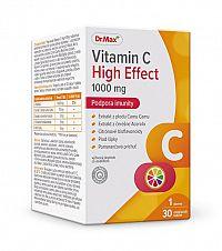 Dr.Max Vitamin C High Effect 1000 mg žuvacie tablety 1x30 ks