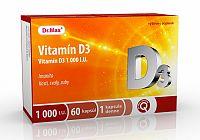 Dr.Max Vitamín D3 1000 I.U. 60 cps