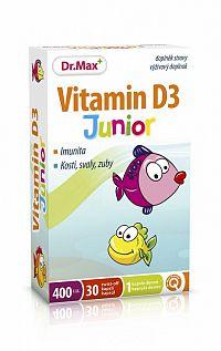 Dr.Max Vitamín D3 Junior 30 cps
