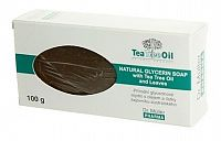 Dr. Müller Tea Tree Oil MYDLO prírodné, s lístkami z čajovníka 1x100 g