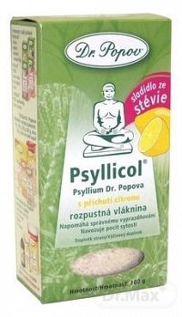 DR. POPOV PSYLLICOL CITRON rozpustná vláknina 1x100 g