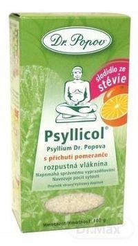 DR. POPOV PSYLLICOL POMARANČ rozpustná vláknina 1x100 g
