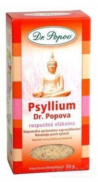 DR. POPOV PSYLLIUM rozpustná vláknina 1x50 g