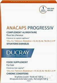 DUCRAY ANACAPS PROGRESSIV cps pre vlasy 1x30 ks
