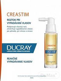 DUCRAY CREASTIM LOTION ANTICHUTE roztok pri vypadávaní vlasov - reakčné vypadávanie 2x30 ml