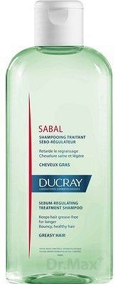 DUCRAY SABAL SHAMPOOING šampón regulujúci tvorbu mazu 1x200 ml