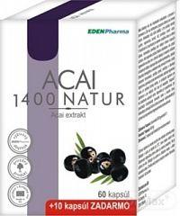 EDENPharma ACAI 1400 NATUR cps 60+10 (70 ks)