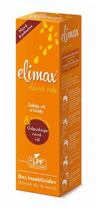 Elimax vlasová voda proti všiam a hnidám 1x100 ml